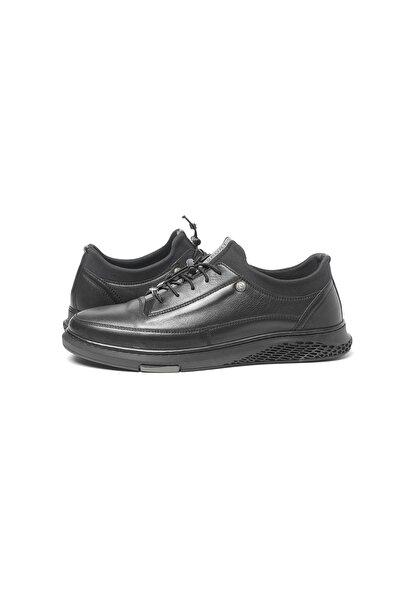 Pierre Cardin Erkek Siyah Hakiki Deri Casual Ayakkabı