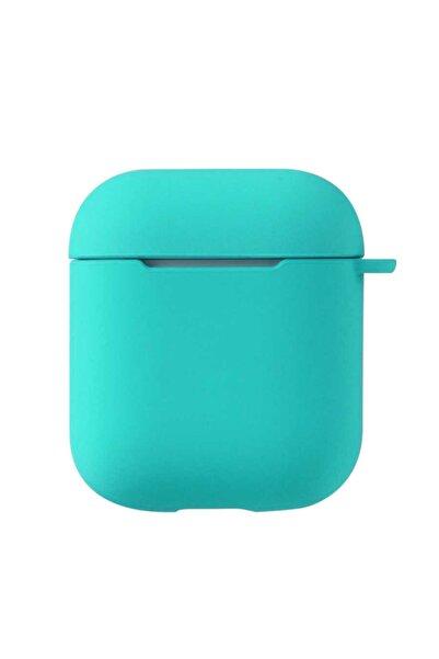 zore Apple Airpods Uyumlu Darbe Emici Wireless Şarj Destekli Soft Görünüm Mat Silikon Askılı Kılıf