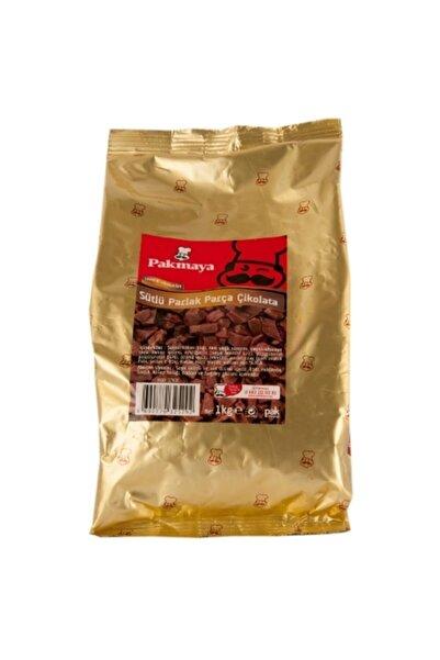 Pakmaya Sütlü Parlak Parça Çikolata (1 kg)