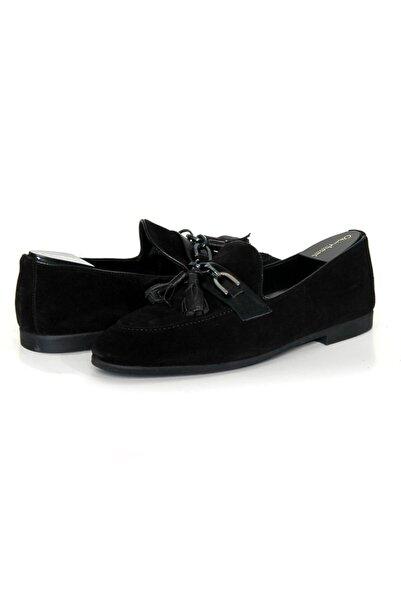 Dexter Erkek Siyah Nubuk Modern Loafer Ayakkabı P8605s