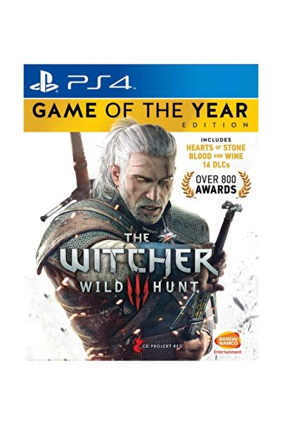 Wb Games The Witcher 3: Wild Hunt - Game Of The Year Edition Ps4 Oyun