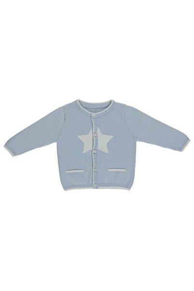 Bebetto Erkek Bebek Mavi Triko Ceket