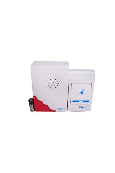 Bigem Wireless Kablosuz Kapı Zili Bm-214 Melodili Kapı Pilli Zil