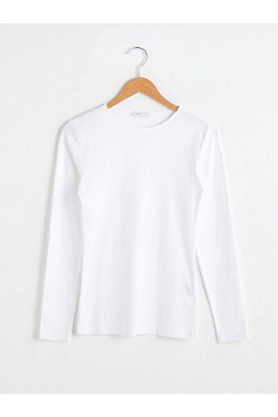 LC Waikiki Kadın Beyaz Tişört