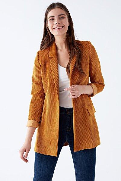 Chima Kuşaklı Kadife Ceket