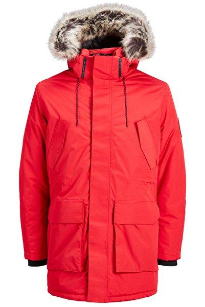 Jack & Jones Erkek Kırmızı Core Jcomeyland Mont 12157936