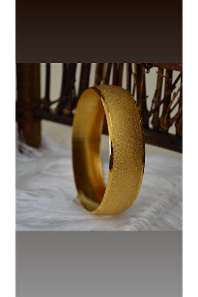 EuroGold Altın Kaplama Kumlu 15mm Bilezik