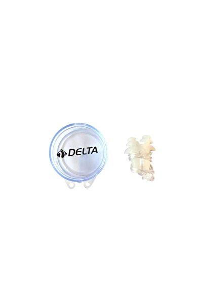 Delta Ergo Silikon Şeffaf Kulak Tıkacı