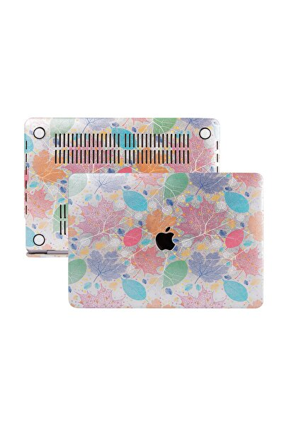 Mcstorey Macbook Air Kılıf 13inc Hardcase Touch Id A1932 A2179 A2337 Uyumlu Koruyucu Kılıf Leaf 990