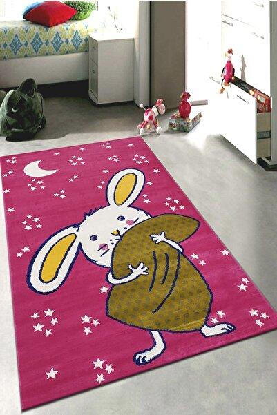Payidar Halı Kids Amigo 8529a Minik Tavşan Desenli Çocuk Halısı