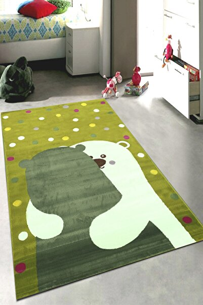 Payidar Halı Kids Amigo 8524a Şirin Ayıcıklar Desenli Çocuk Halısı