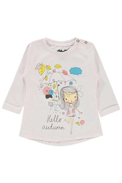 Civil Baby Kız Bebek Tişört 6-18 Ay Toz Pembe