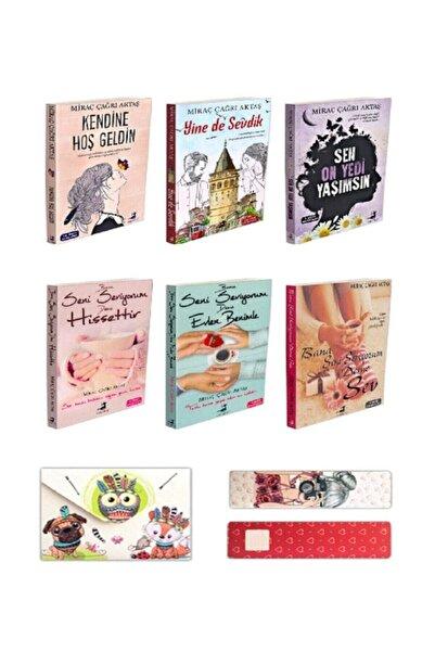 Olimpos Yayınları 6 Kitap Set Kendine Hoş Geldin Sen On Yedi Yaşımsın Yinede Sevdik Bana Seni Seviyorum Deme