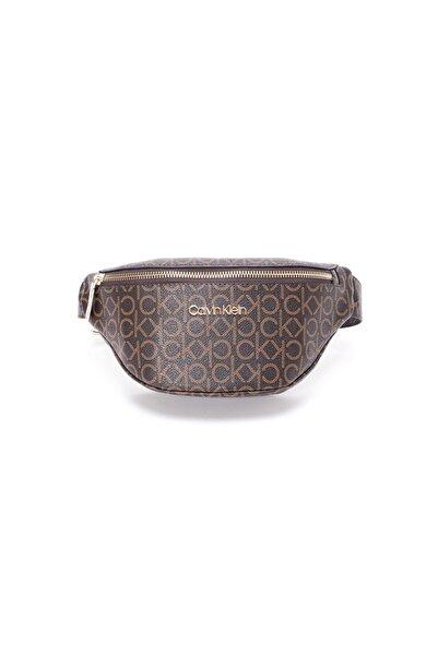 Calvin Klein Kadın Kahverengi Bel Çantası