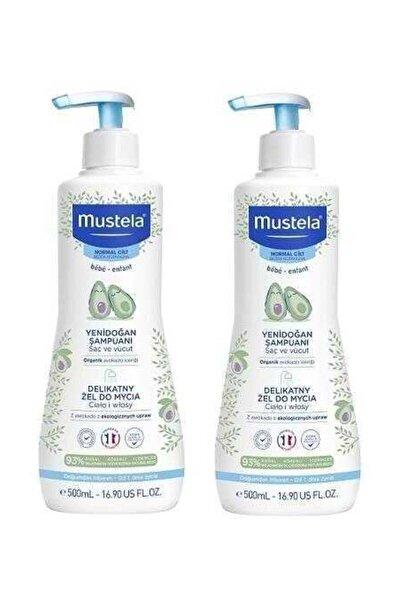 Mustela Saç & Vücut Şampuan 500 Ml | 2 Adet Set