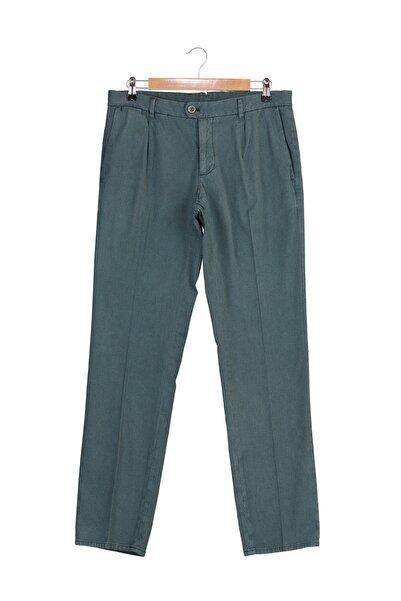 MANGO Man Erkek Yeşil Pantolon 43073703