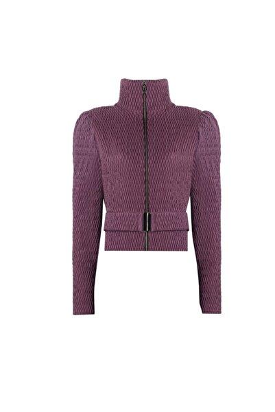 Nur Karaata Kadın Mor Sankt Moritz Purple Ceket