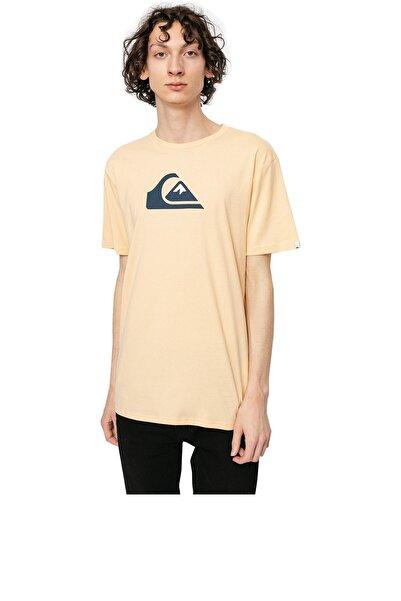 Quiksilver COMP LOGO SS Ekru Erkek T-Shirt 101106989