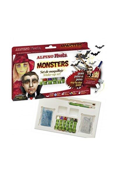 Alpıno Dl-009 Fıesta Yüz Boyama Seti Monsters