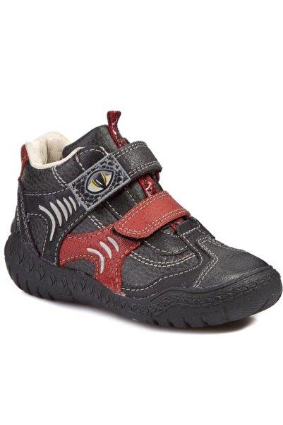 CLARKS Unisex Siyah Hakiki Deri Çocuk Ayakkabı