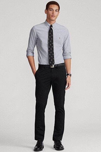 Polo Ralph Lauren Erkek Gri Fit Oxford Gömlek