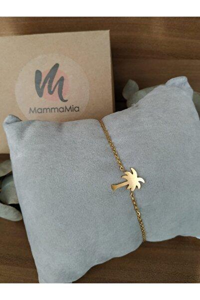 Mammamia Kadın Altın Palmiye Bileklik