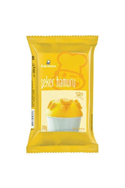 Pakmaya Şeker Hamuru Sarı 200 G