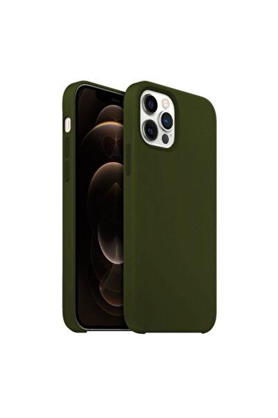 Buff Iphone 12 Pro Max Rubber Fit Kılıf Yeşil
