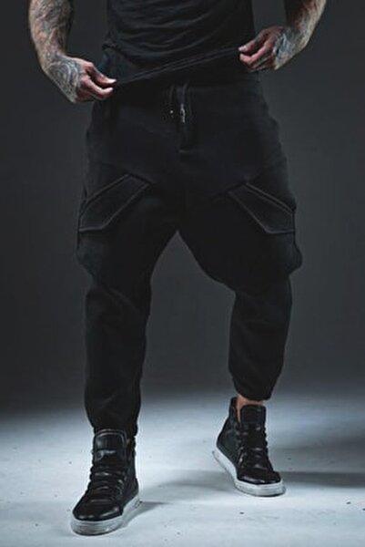 Erkek Siyah Cep Detaylı Şalvar 1kxe8-44376-02