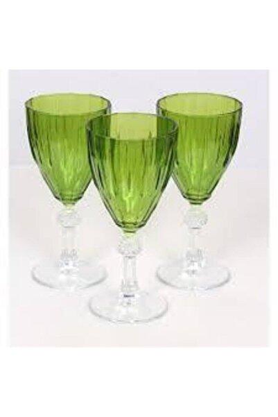 Paşabahçe Kadeh Yeşil Renkli 245 cc 3 Adet 44767