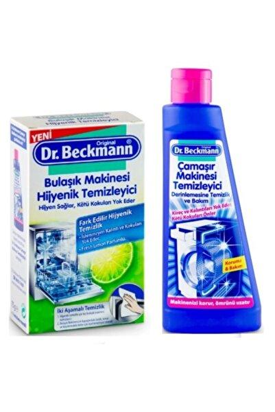 Dr.Beckmann Bulaşık Makinesi Temizleyici Toz 75 gr ve Çamaşır Makinesi Temizleyici 250 ml