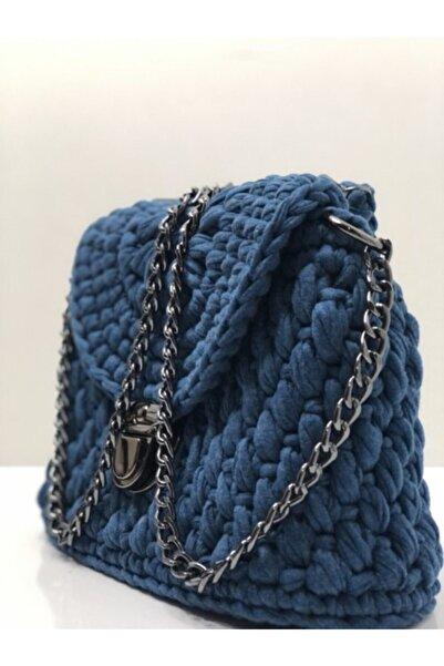 NEW ERA AVM Kadın Mavi Çanta