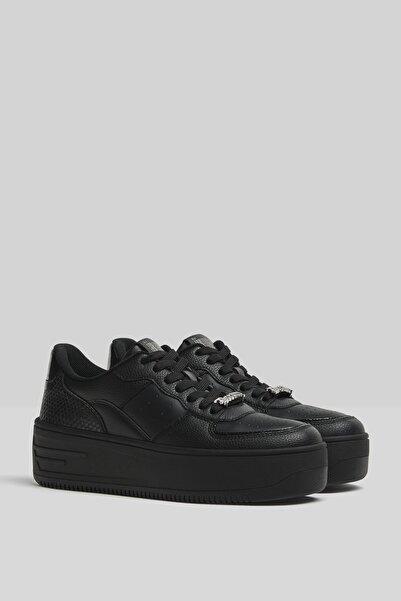 Bershka Taşlı Platform Spor Ayakkabı