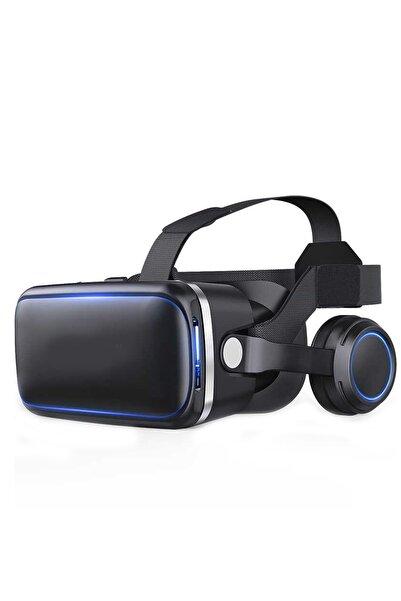 Aksesuarcım Samsung Galaxy A31 Için Bluetooh Stereo Kulaklıklı 3d Vr Sanal Gerçeklik Gözlüğü