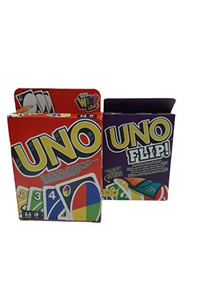mattel Uno Oyun Kartı Ve Uno Flip Oyun Kartı