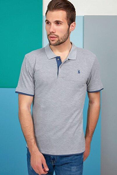 Dewberry Erkek Gri T-Shirt - 2090001T8562