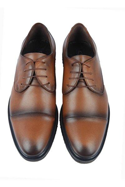 Centone Erkek Kahverengi Deri Klasik Ayakkabı 18-5053