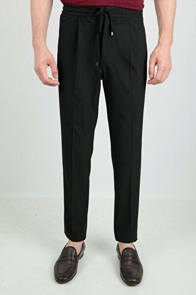 Centone Erkek Siyah Comfort Fit Jogger Pantolon 20-0087