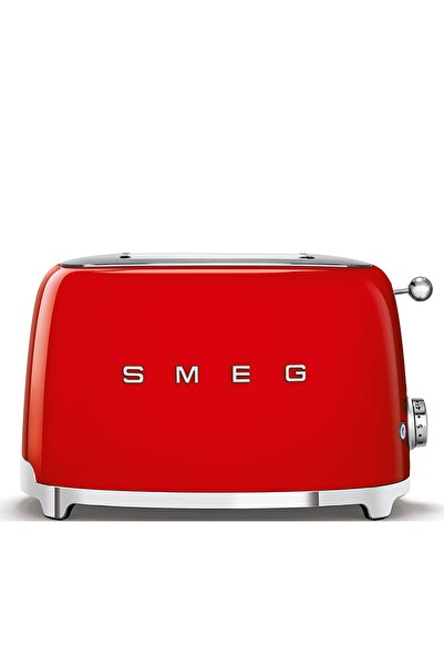 SMEG Kırmızı 1x2 Ekmek Kızartma Makinesi
