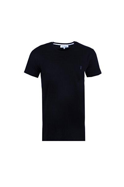 Ottomoda Erkek T-shirt Siyah