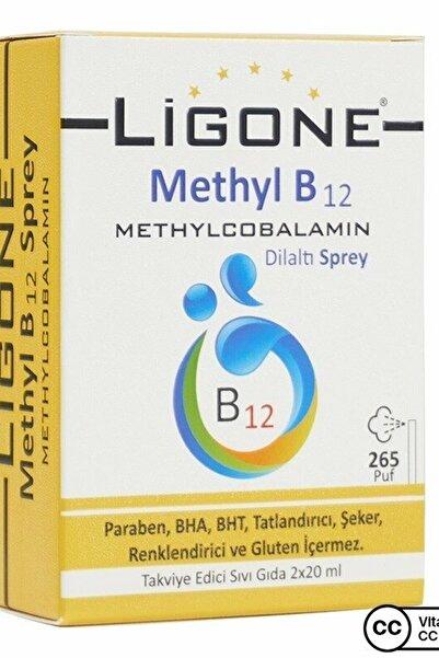 Ligone Methyl B12 Dilaltı Sprey 2x20ml