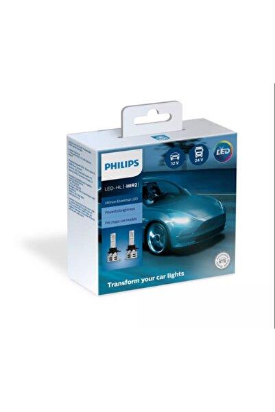 Philips Led Xenon Hır2 9012 12-24 V Uyumlu 6500 K Parlak Beyaz 11012ue2x2