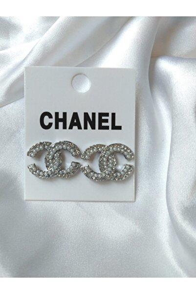 HİLLSCARF Chanel Model Incılı Küpe
