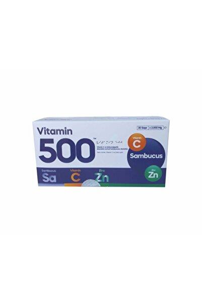 Fabrika Vitamin 500 Vit C + Sambucus + Zinc 30 Saşe