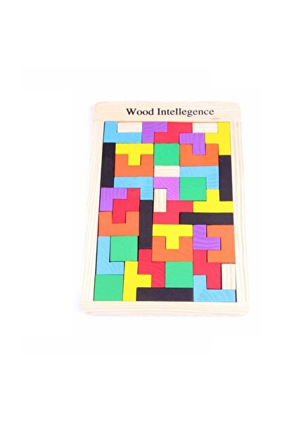 Learning Toys Ahşap Blok Tetris Zeka Oyunu