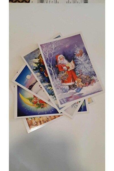 KESKİN COLOR Yılbaşı Kartpostalı 10lu Set