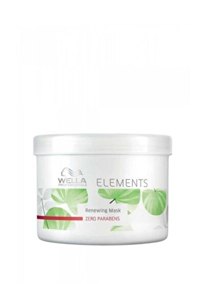 Wella Elements Renewin Zero Parabens Maske 500 Ml