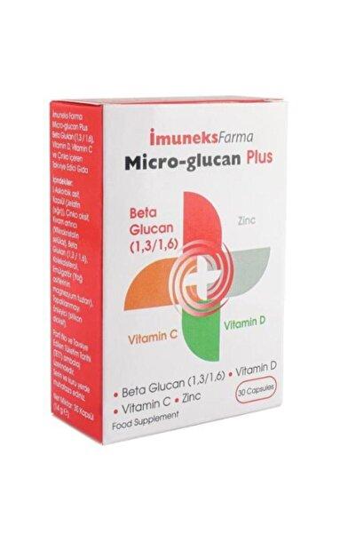 Imuneks Micro Glucan Plus Beta Glucan 30 Kapsül