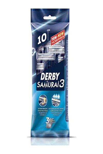 Derby Samuraı 3bıçak 10!lu Poşet