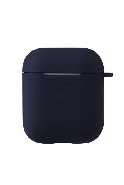 zore Darbe Emici Wireless Şarj Destekli Mat Renkli Silikon Askılı Kancalı Airpods Kılıf